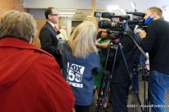 City Councilman Tom Didier during his media availability