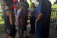 Governor Pence at Allen County Fun Fair