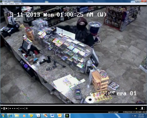 Suspected lottery thief