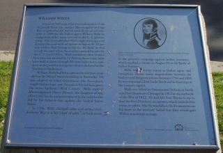 The William Wells ARCH Marker