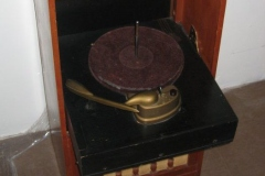 Farnsworth combination radio phonograph