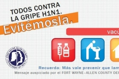 Spanish H1N1 Billboard