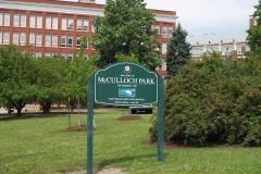 McCulloch Park signs