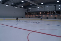 First skaters at Canlan