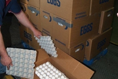Egg Donation to the Community Harvest Food Bank