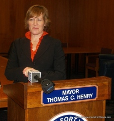 2011/03/30: Deputy Mayor Beth Malloy