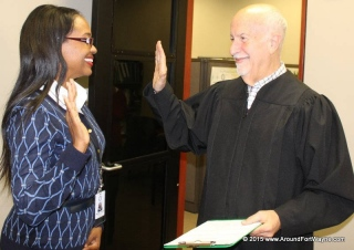 2015/11/09: Michelle D Chambers and Judge Stanley A. Levine