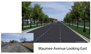 Maumee Avenue realignment