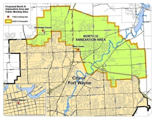 North IV Annexation Area