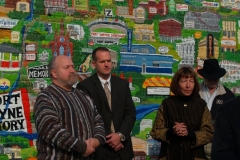 2009/11/03: Commercial Façade Grant press conference