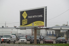 2010/05/13: Share the Road billboard