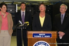 2011/04/14: Allen County Commissioner Therese Brown