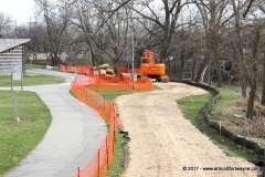 The Riverbank Stabilization Project at Old Fort Wayne