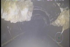 Grease blockages in sewer pipe