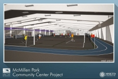 McMillen Park Community Center rendering