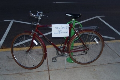 Bike Rack in use