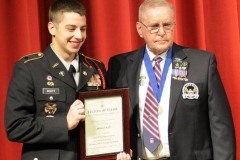 Lt. Col (R) Fred Spaulding and Mitchell Scott