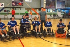 The Turstone Furious Flyers Power Soccer Team