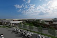 FWA Project Gateway West Terminal Expansion and Rehabilitation rendering