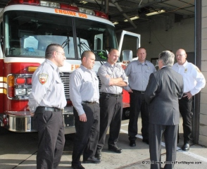 Indiana Attorney General Greg Zoeller at FWFD Station 7