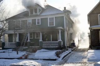 Lake Avenue duplex fire