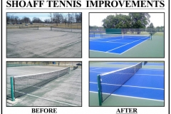 Shoaff Park Tennis Court Improvements