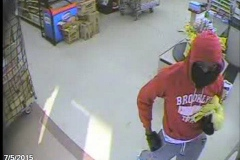 Dollar General robbery suspect, 6101 N. Clinton St.