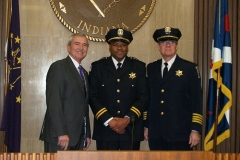 2010/12/06: Mayor Tom Henry, Deputy Chief Garry Hamilton and FWPD Chief Rusty York
