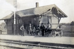 The Craigville Indiana Nickel Plate Railroad Depot