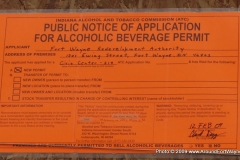 2009/02/26: Notice for Alcohol Permit Hearing