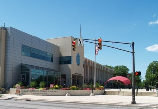 The Allen County Public Library Main Branch