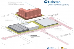 Lutheran Downtown Hospital site plan