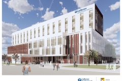 Lutheran Downtown Hospital rendering