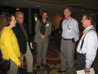 2009/06/01: The delegation with INDOT officials