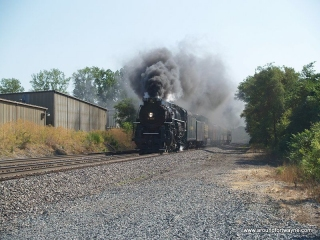 2012/07/11: The NKP 765 at Brooklyn Avenue