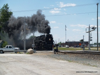 2012/07/11: The NKP 765 at New Haven