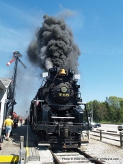 2009/05/22: 765 at the Hoosier Valley Railroad Museum