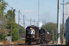 2010/09/08: The NKP 765 approaching