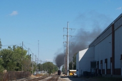 NKP 765 Smoke trail