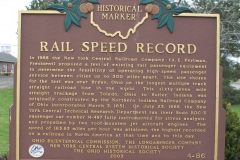 Rail Speed Record