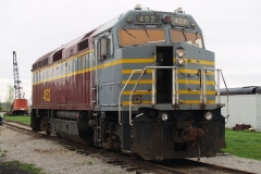 2009/05/01: Ohio Central Railroad 452