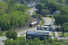 2009/05/20: A telemetry train passes through