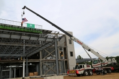 Parkview Warsaw topping out ceremony