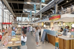 Electric Works rendering of the Union Street Market