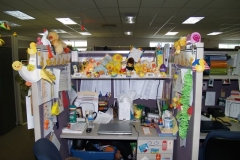 Decorated cubicles