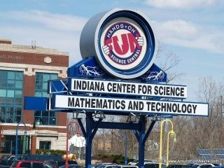 Science Central sign