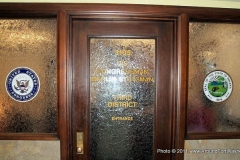 Congressman Marlin Stutzman's office door