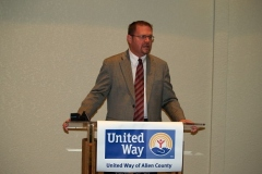 2009/07/27: Jerry Peterson, United Way of Allen County President and CEO