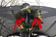 Wells Street Christmas Wreath
