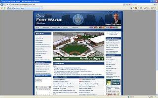 Newest revision of City website